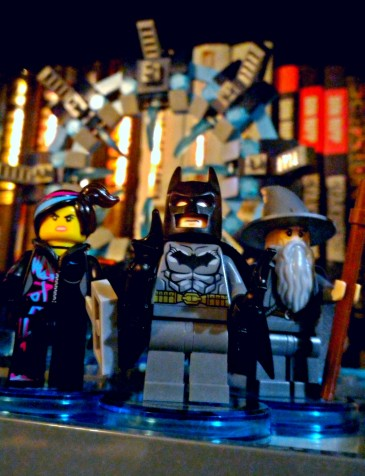 lego batman wyldstyle gandalf